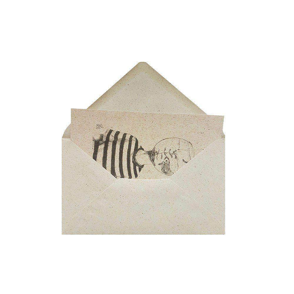 Bild 4 back mit PK 1 - Kuverts C6 aus Graspapier - 25 Stück
