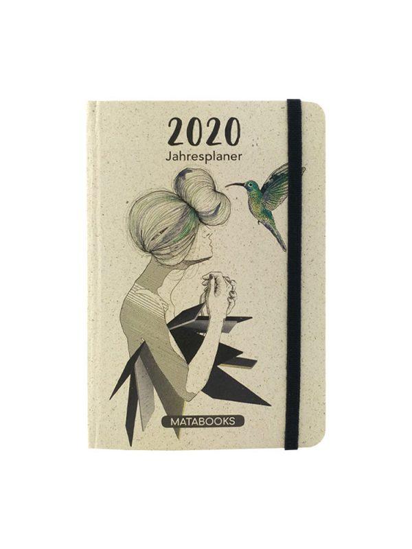 Matabooks Graspapier Kalender 2020 - Samaya Charlotte
