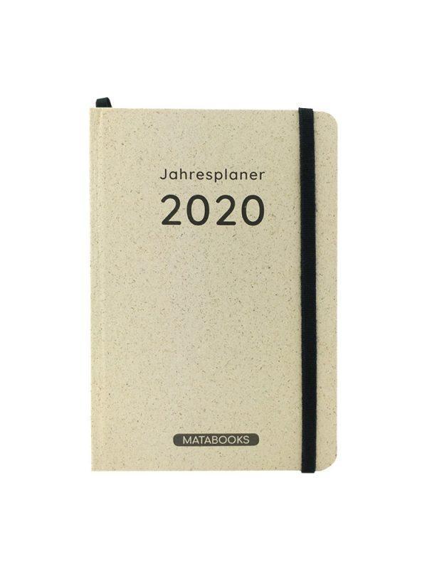 Matabooks Graspapier Kalender 2020 - Samaya Easy