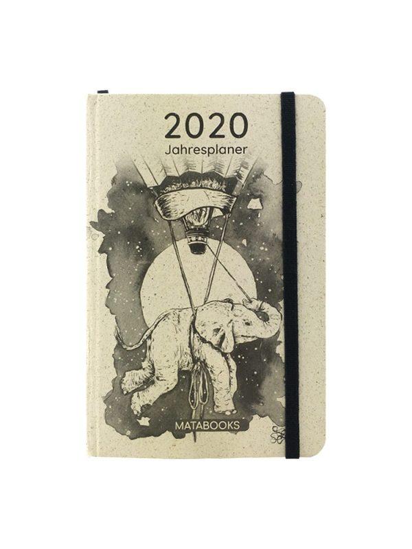 Matabooks Graspapier Kalender 2020 - Samaya Sophie