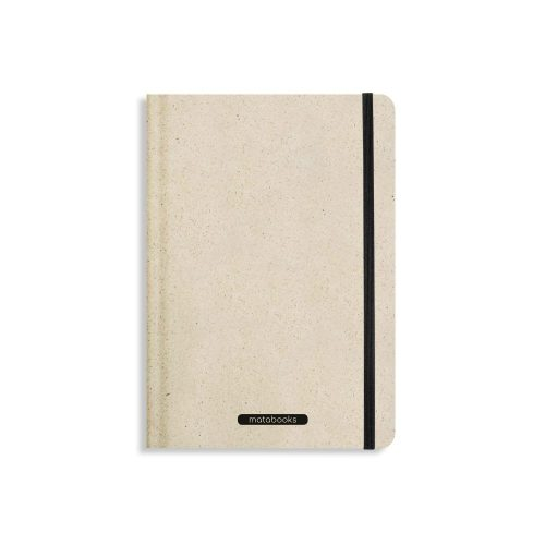 Nachhaltiges Notizbuch A5 aus Graspapier Nari Easy von Matabooks