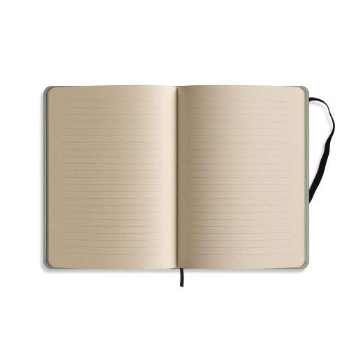 Nachhaltiges Notizbuch A5 aus Graspapier Nari Innenseite liniert von Matabooks