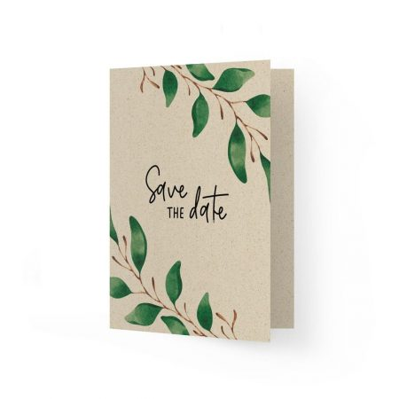 Einladung Grußkarte aus Graspapier - Matabooks