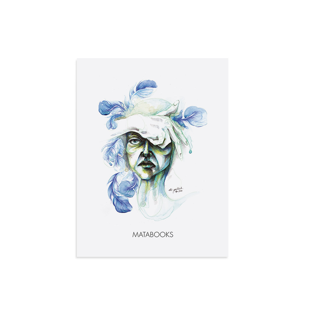 Kunstdruck aus Graspapier - Blendend von Erika Greilich