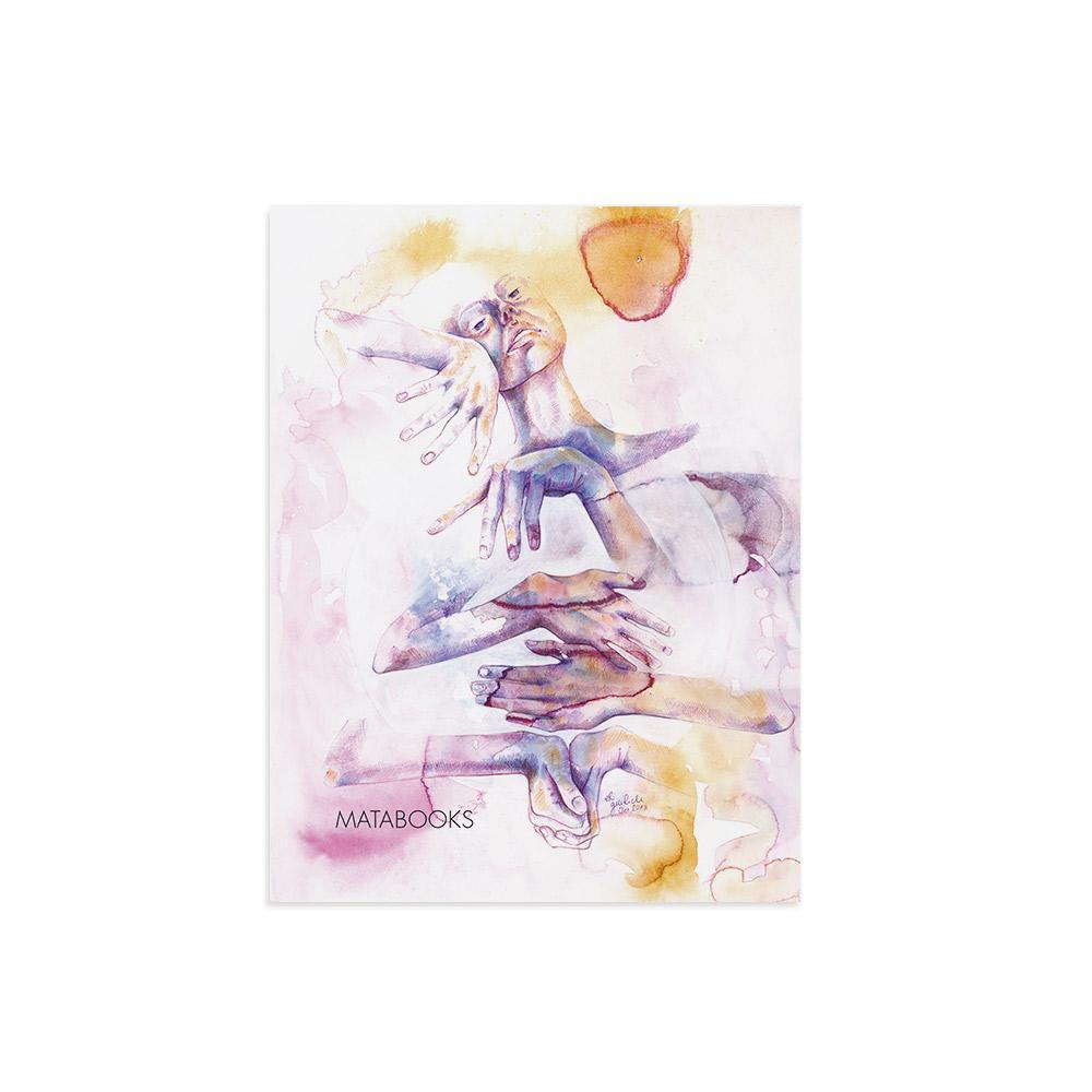 Kunstdruck aus Graspapier - Eingeklemmt von Erika Greilich