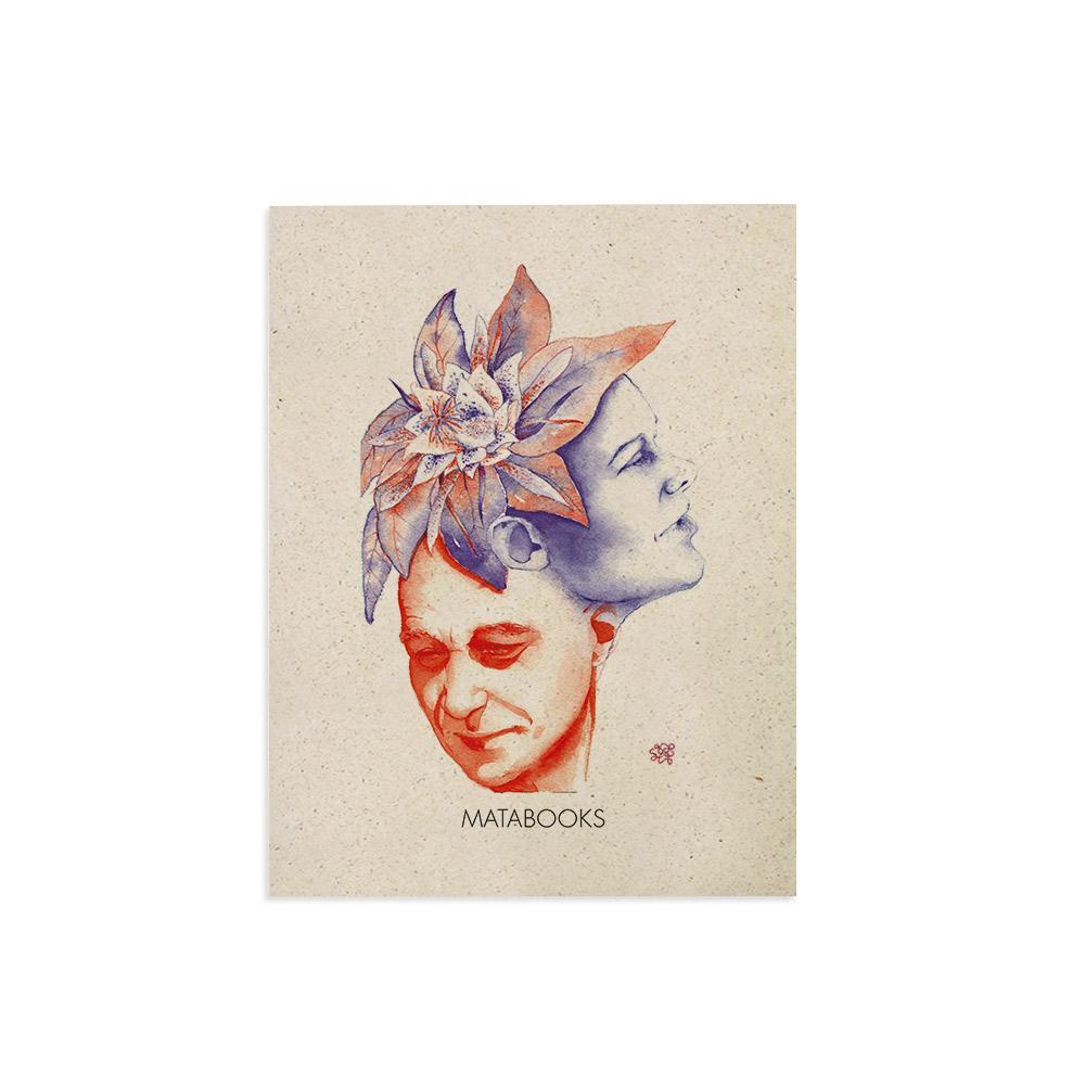 Kunstdruck aus Graspapier - Florescence von Sophie Thiele