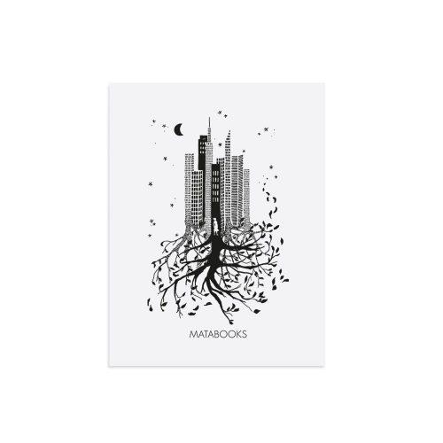 Kunstdruck aus nachhaltigem Graspapier - Luna von Nina Egli