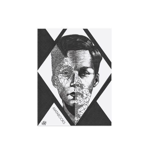 Kunstdruck Split Mind von Sophie Thiele aus Graspapier