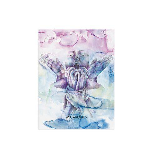 Kunstdruck aus Graspapier - Starr von Erika Greilich
