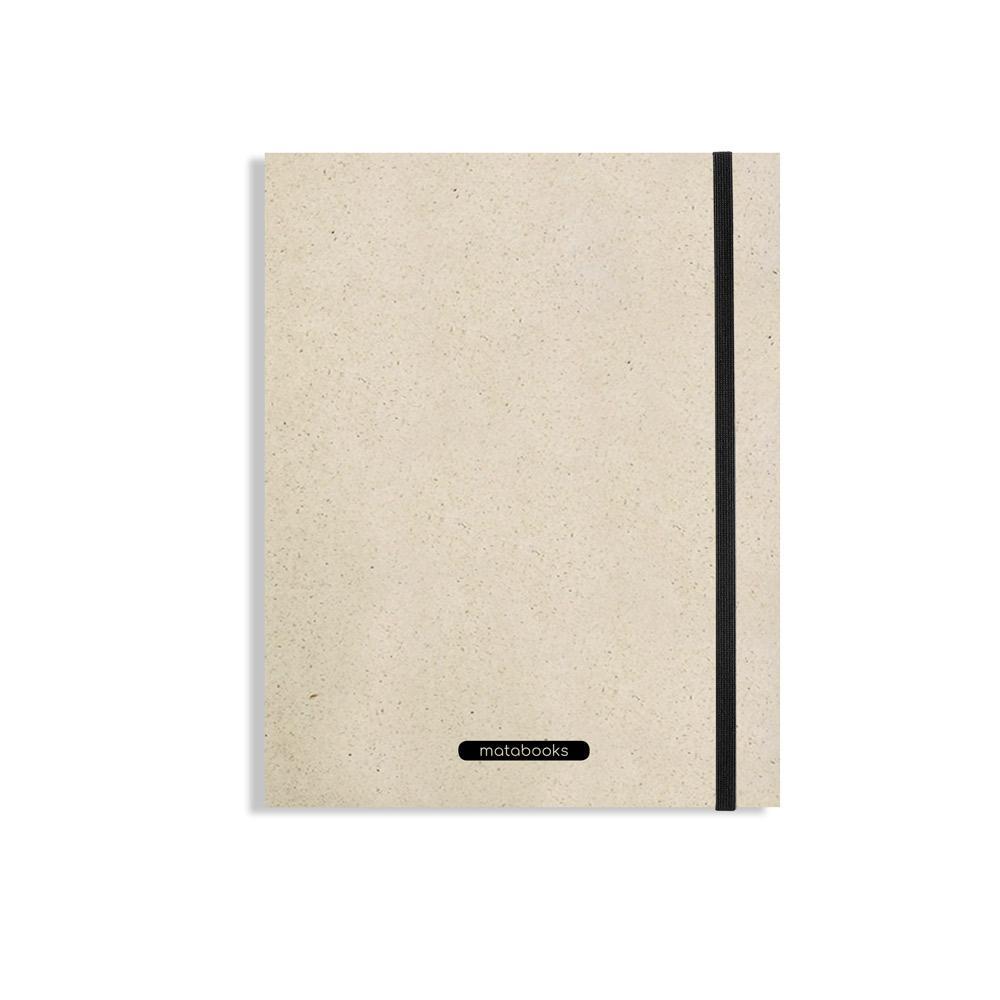 """Notizbuch Swiss Brochur """"Easy"""" aus Graspapier von Matabooks"""
