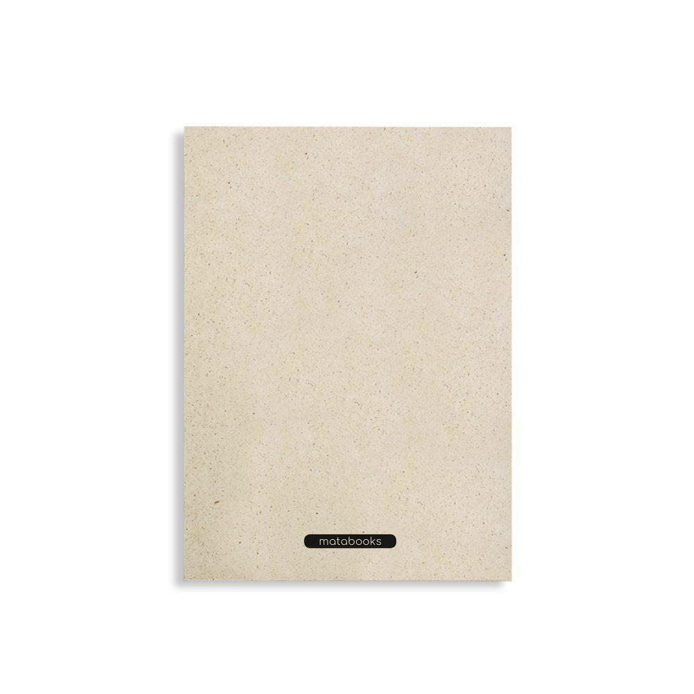 """Nachaltiges Notizbuch A5 aus Graspapier Nava """"Easy"""" von Matabooks"""