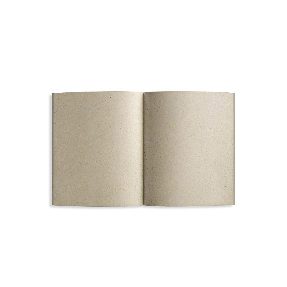 Steifbroschur Dahara Innenseite aus Graspapier von Matabooks