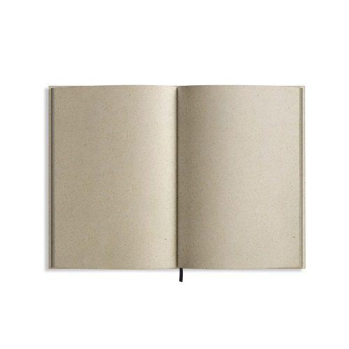 Nachhaltiges und veganes Notizbuch A5 Innenseiten aus Graspapier von Matabooks