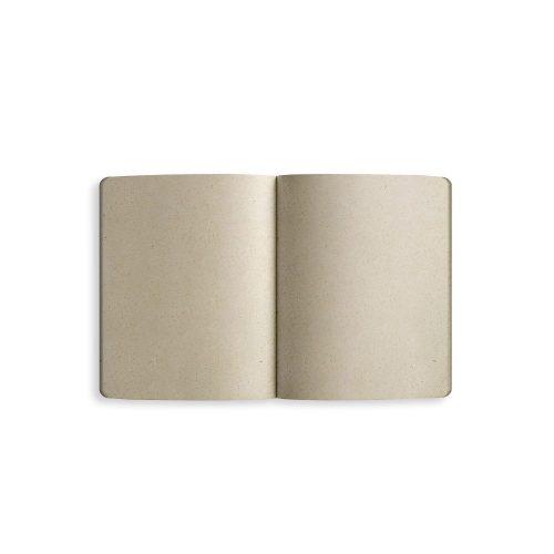 Samenbuch aus Graspapier Innenseite von Matabooks