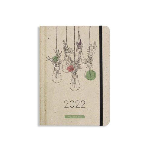 "A5 Kalender Samaya 2022 ""Blooming"" (DE/EN)"