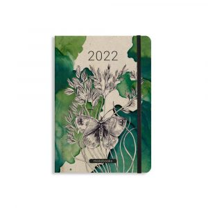 """A5 Kalender Samaya 2022 """"Nocturnal"""" (DE/EN)"""